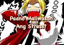 Paano maiiwasan ang stress