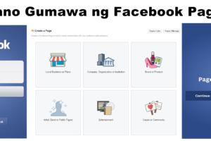paano gumawa ng facebook page