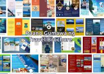 paano gumawa ng travel brochure