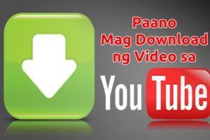 paano mag download ng video sa youtube