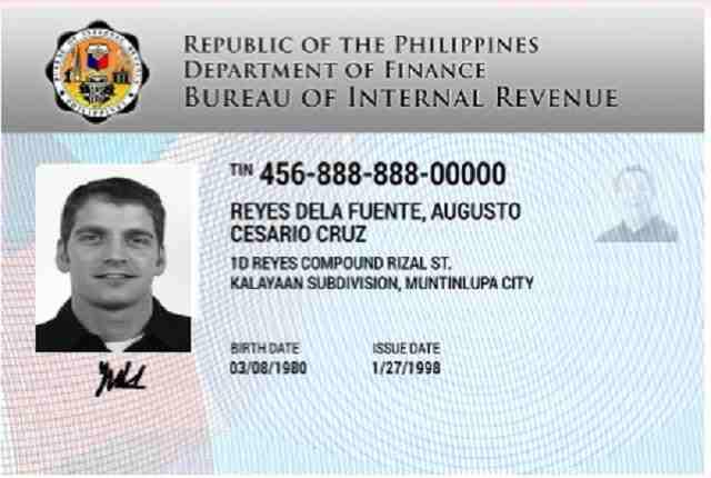 digitized TIN ID