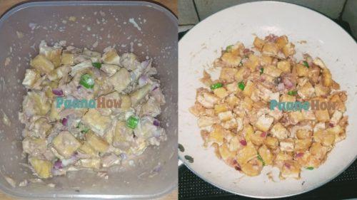 Tofu tuna sisig 1