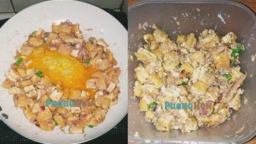 Tofu tuna sisig 2