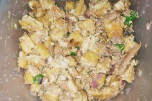 magluto ng tofu with tuna sisig