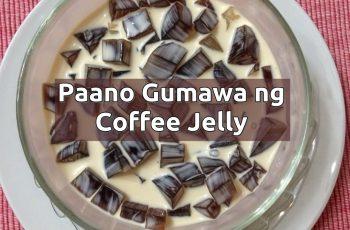 paano gumawa ng coffee jelly